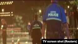 Mesto pucnjave u Ostinu