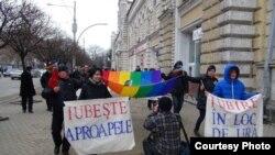 """Marşul """"Dragoste în loc de ură"""", Chişinău, 14 februarie 2013"""