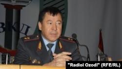 Тәжікстанның ішкі істер министрі Рамазан Рахимов.