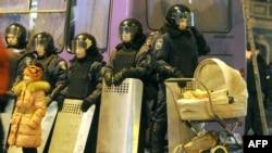 Киевтегі полиция жасағы. Көрнекі сурет
