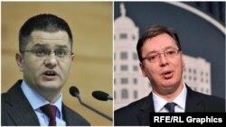 Vuk Jeremic i Aleksandar Vučić