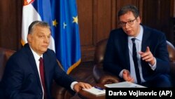 Orban i Vučić, 2018.