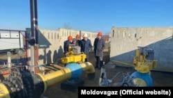 Reconstrucția stației de măsurare gaze de la Căușeni