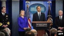 АКШ президенти Барак Обама Вашингтондогу маалымат жыйынында. 26-март, 2010-ж.
