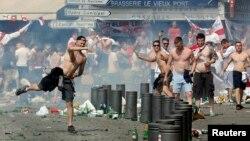 Ֆրանսիա - Ռուսաստանցի և անգլիացի երկրպագուների բախումները, Մարսել, 11-ը հունիսի, 2016թ․