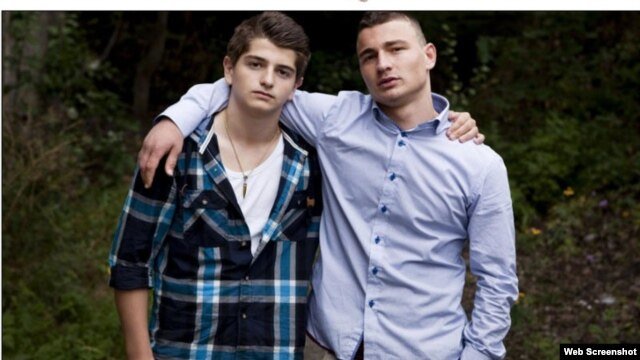 "The story of Chechen teenagers Rustam Daudov (left) and his friend, Movsar Dzhamayev, was picked up by Norway's ""Dagbladet"" newspaper."