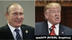 Володимир Путін (ліворуч) та Дональд Трамп