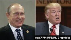 Vladimir Putin dhe Donald Trump