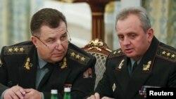 Степан Полторак і Віктор Муженко