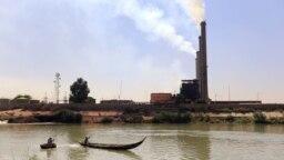 نمایی عمومی از نیروگاه برق بغداد