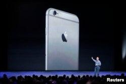 iPhone-6-nyň tanyşdyrylyş dabarasyndan bir pursat