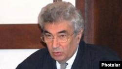 Armenia -- Constitutional Court Chairman Gagik Harutiunian.