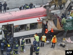 După explozia trenului spaniol în 2004