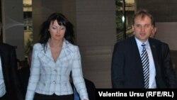 Evgheni Șevciuk cu Nina Stanski la Tiraspol