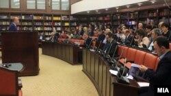 Седница на собраниската Комисија за финансирање и буџет