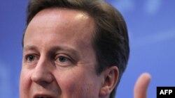 Дэвид Кэмерон, Ұлыбритания премьер-министрі. Көрнекі сурет.