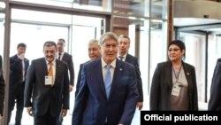 Бывший президент Кыргызстана Алмазбек Атамбаев, 31 марта 2018 года.