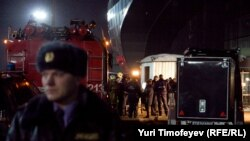 Russia -- A bomb explosion at Moscow's Domodedovo airport, 24Jan2011