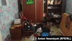Квартира Алексея Шестаковича после обыска, 1 марта 2018