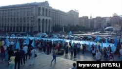 Днь крымскотатарского флага, Киев, 26 июня