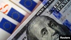 Dollar və avro banknotlar