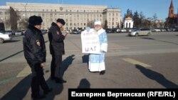 """""""Дед мороз"""" Егоров. Архивное фото"""