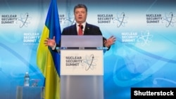 Президент Украины Петр Порошенко. Вашингтон, 1 апреля 2016 года.