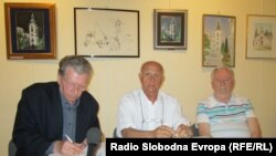 Božo Kijac (lijevo), Ratko Pejanović (sredina), Milan Jovičić (desno), foto: Mirsad Behram