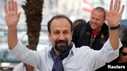 Asghar Farhadi Fransada Kann festivalında.