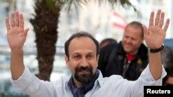 Иранский режиссер Асгар Фархади в Каннах. 17 мая 2013 года.