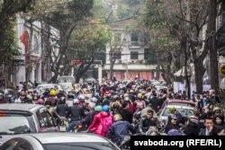 Хаос на віетнамскіх вуліцах
