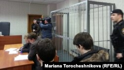 У залі Тверського суду Москви, 22 березня 2013 року