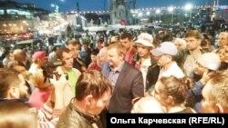 Стихийная акция во Владивостоке 17 сентября, архивное фото