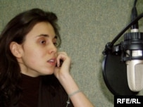 Moldovan journalist Natalia Morar