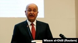Iraqi President Barham Salih (file photo)