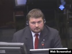Din Mening svjedoči na suđenju Radovanu Karadžiću, 6. ožujak 2012.