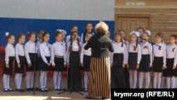 Концертное выступление детского коллектива на летней площадке «Ракушка», май 2018 года