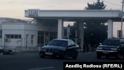 Azerbaijan. SOCAR's petrol station in Tbilisi