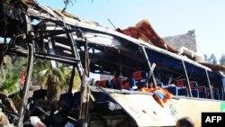 Cирияда чабуулга кабылган автобус, 01.02.2015