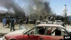 Бомбашкиот напад во покраината Пактика во Авганистан