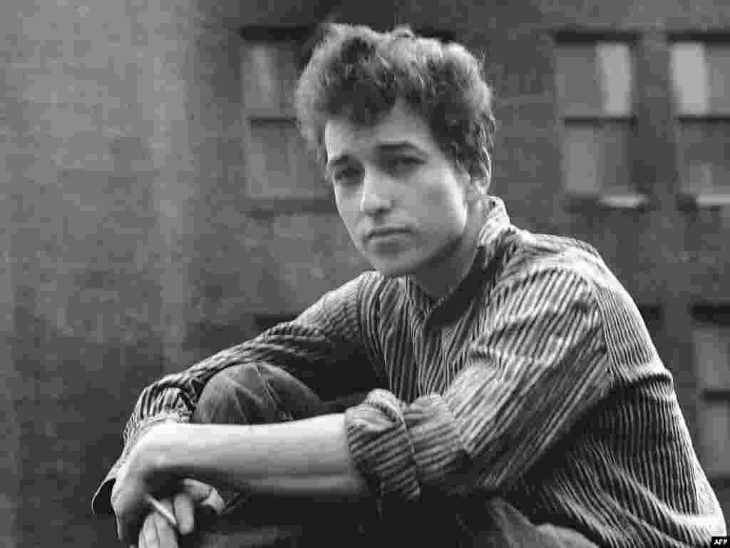 Bob Dylan in the early 1960s in New York.