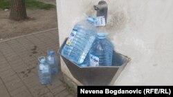Zabrana konzumiranja vode iz gradskog vodovoda u Zrenjaninu je na snazi od 2004. godine