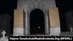 Місце поховань польських вояків на Личаківському цвинтарі