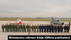 Na vežbi učestvuje 212 pripadnika Rusije, 56 pripadnika Belorusije i 450 pripadnika Vojske Srbije