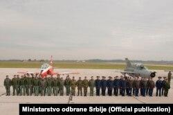 Aerodrom Batajnica kod Beograda gdje je počela vježba Rusije i Srbije , BARS 2016.
