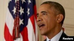 Президент США Барак Обама. Вашингтон, 14 июля 2015 года.