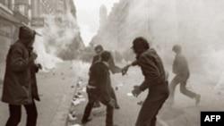 Столкновения студентов с полицией во Франции – 6 мая 1968 года