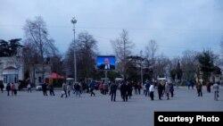 Севастопольцы смотрят прямую линию Владимира Путина