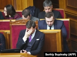 Алексей Гончарук в Раде