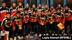 منتخبا الشباب والناشئين بـكرة القدم